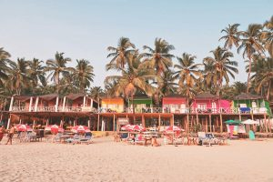 Goa Urlaub - Strandhütten direkt am Meer