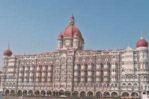 Mumbai Sehenswürdigkeiten - das Taj Mahal Hotel als Beitragsbild