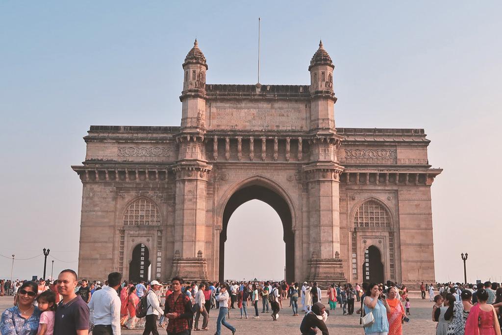 Mumbai Sehenswürdigkeiten - das weltberühmte Gateway of India