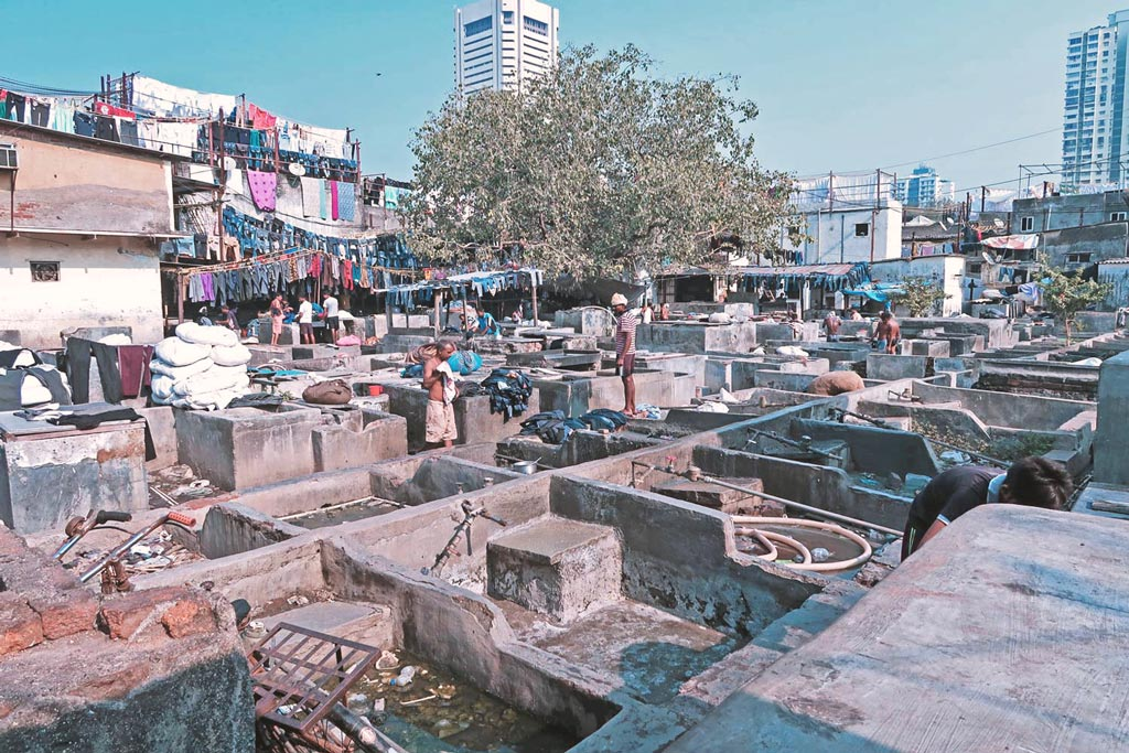 Mumbai Sehenswürdigkeiten - Slums in Mumbai