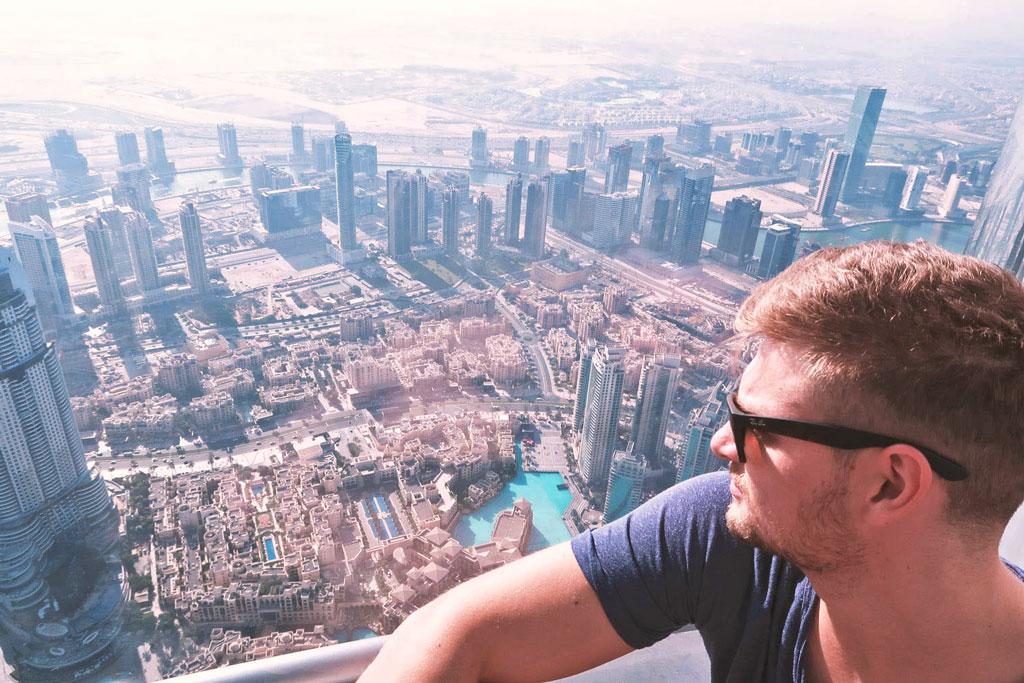 Reisetipps Dubai - Aussicht vom Burj Khalifa