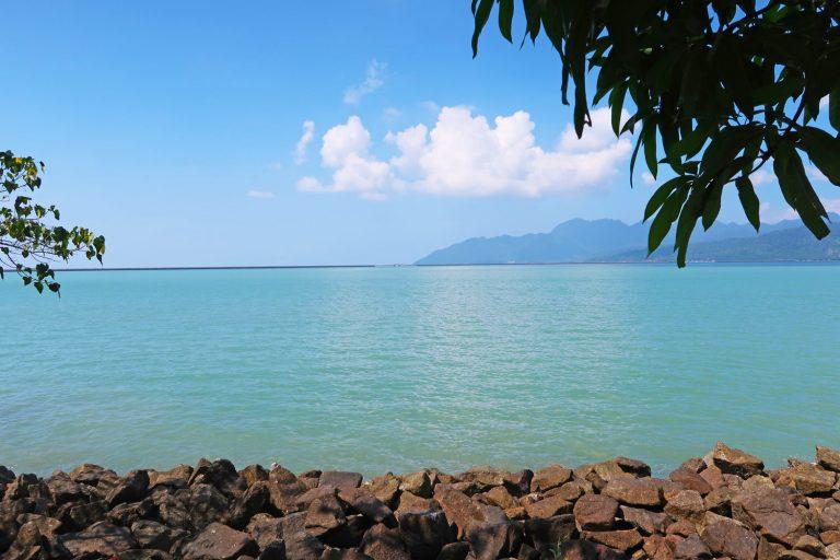 Wunderschöne Landschaften auf der Insel Langkawi in Malaysia