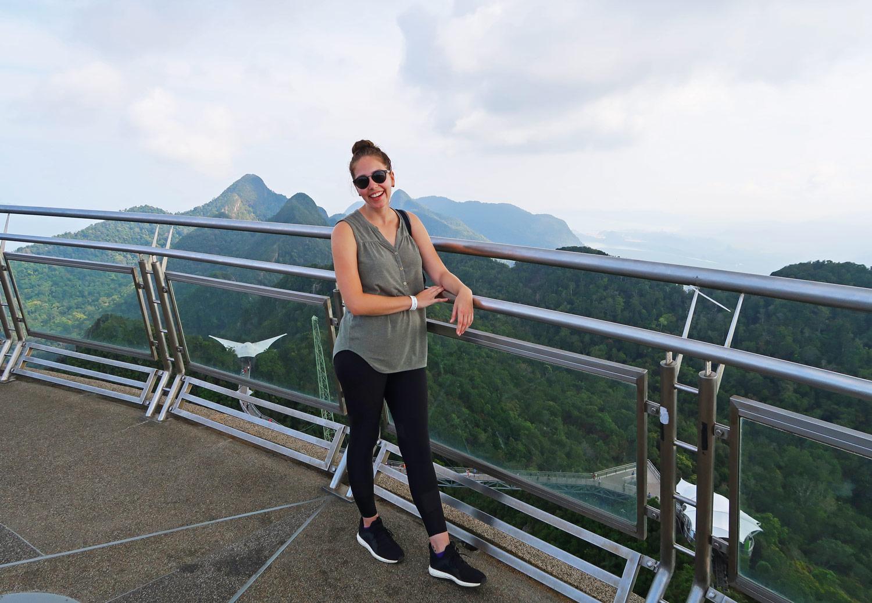Cable Car Langkawi - Aussichtsplattformen mit genialem Rundumblick