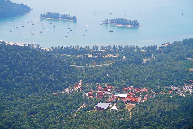 Langkawi Malaysia Tipp: Eine Fahrt mit der Cable Car