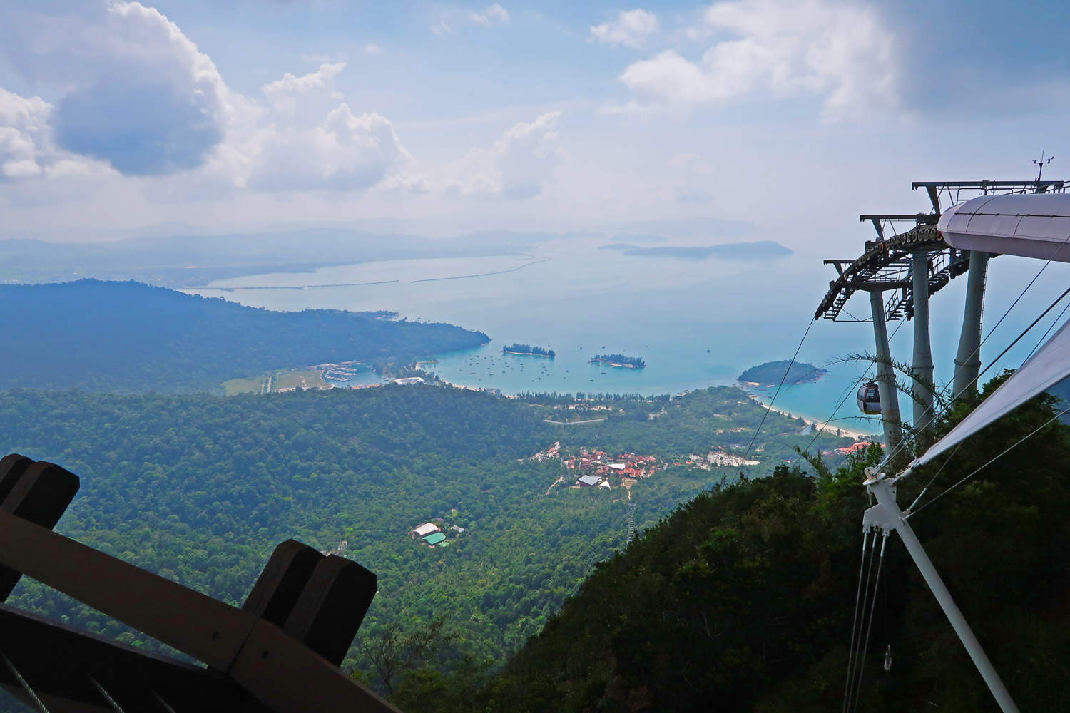 Cable Car auf Langkawi Malaysia