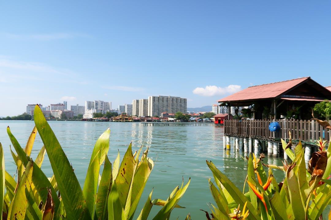 Clan Jetties sind sechs chinesische Clans, die in Häusern auf Stelzen in Penang leben