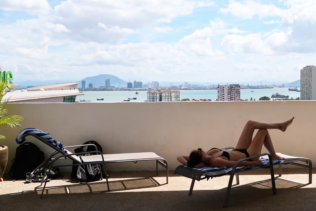 Entspannter Aufenthalt im Luxushotel St Wembley in Penang