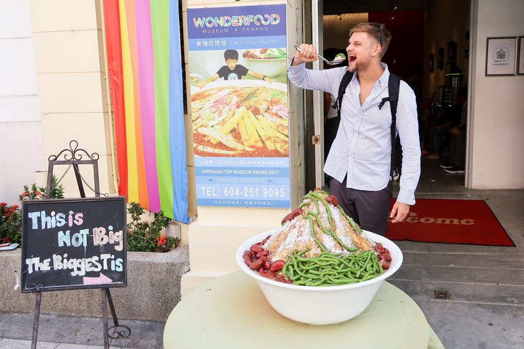 Das verrückte Wonderfood Museum in George Town garantiert lustige Schnappschüsse
