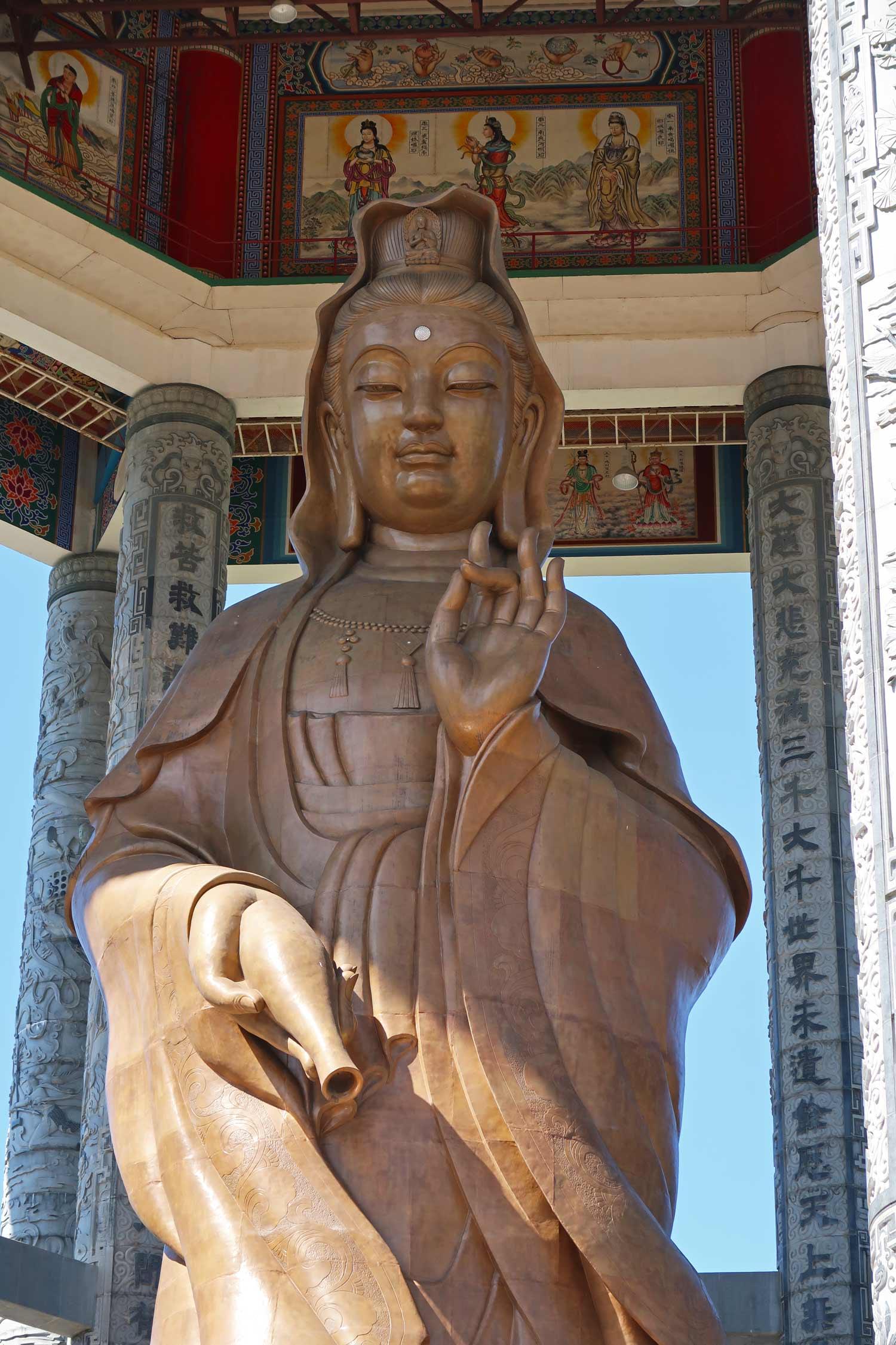 Lady Buddha ist eine der Gottheiten im Buddhismus