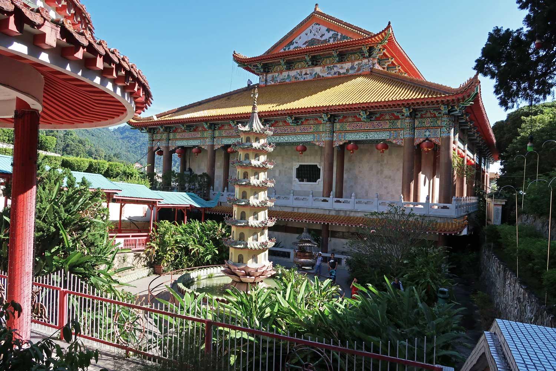 Der Kek Lok Si Tempel ist der größte buddhistische Tempel in Malaysia