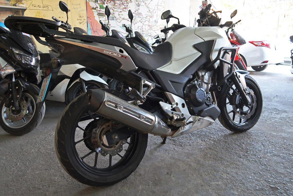 Motorrad leihen in Chiang Mai - Honda CB500X bei Pop Motobike