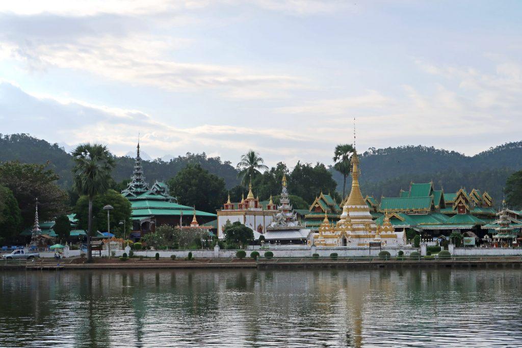 Mae Hong Son - Der See im Zentrum