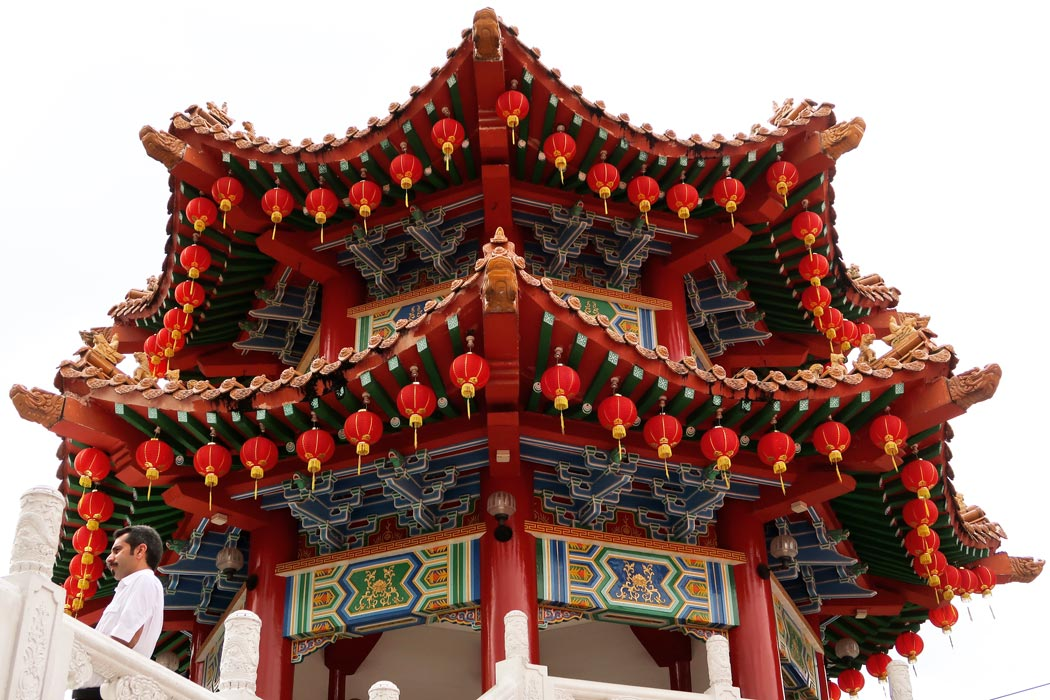 Thean Hou Temple - ein chinesischer Tempel in Kuala Lumpur