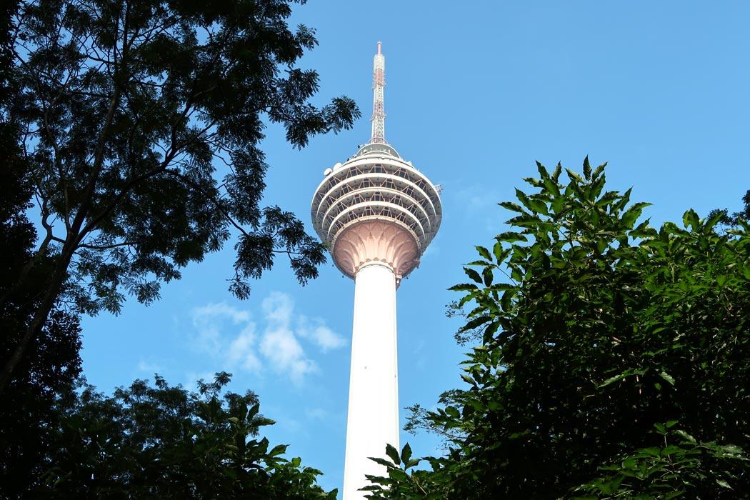 Menara KL, der Fernsehturm in Kuala Lumpur
