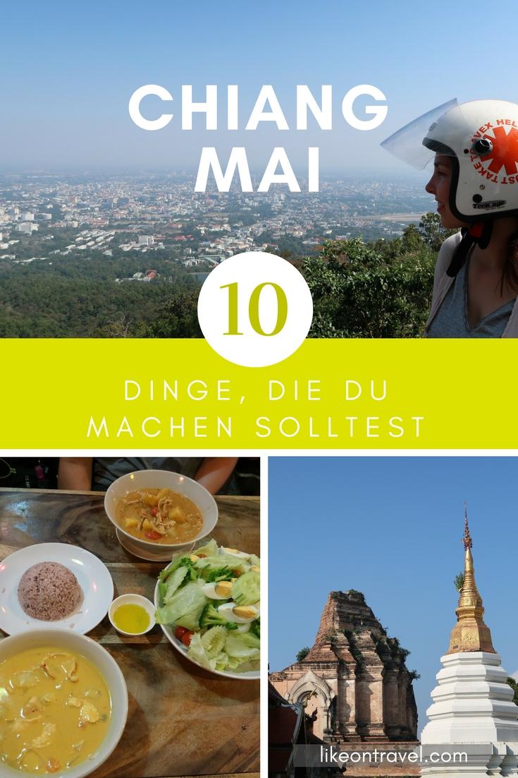 Die besten Tipps für Chiang Mai! #thailand #nordthailand #südostasien #asien #reiseblog #blog #tipps