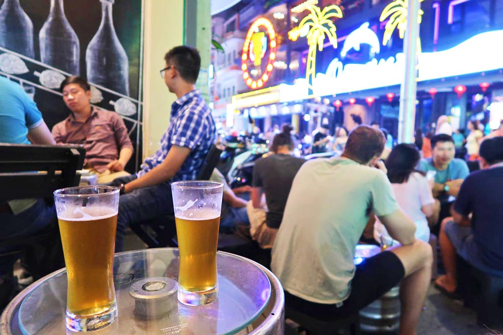 Pham Ngu Lao Steet in Vietnam - Ho Chi Minh City - likeontravel