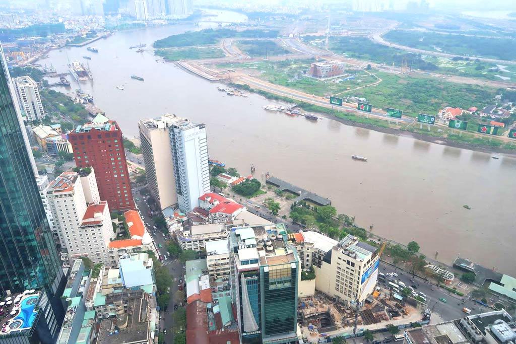 Aussicht vom Bitexco aus der 51.Etage - Ho Chi Minh City - likeontravel