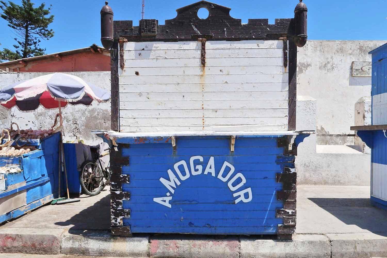 Fischbude in Essaouira