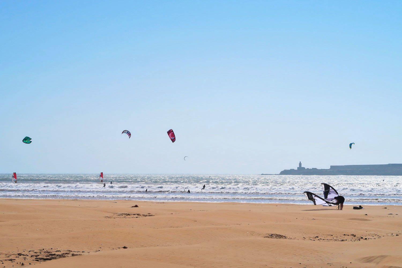 Kitesurfer in Essaouira