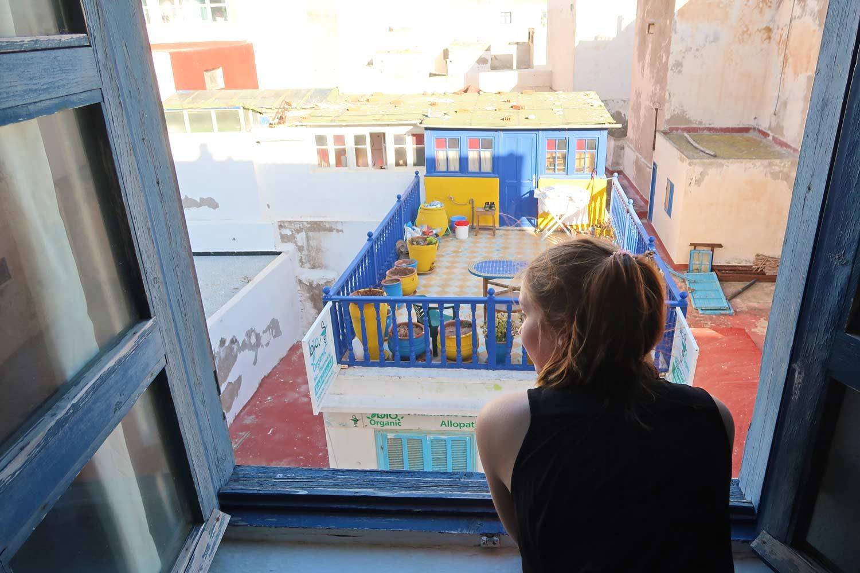 Riad Ausblick in Essaouira