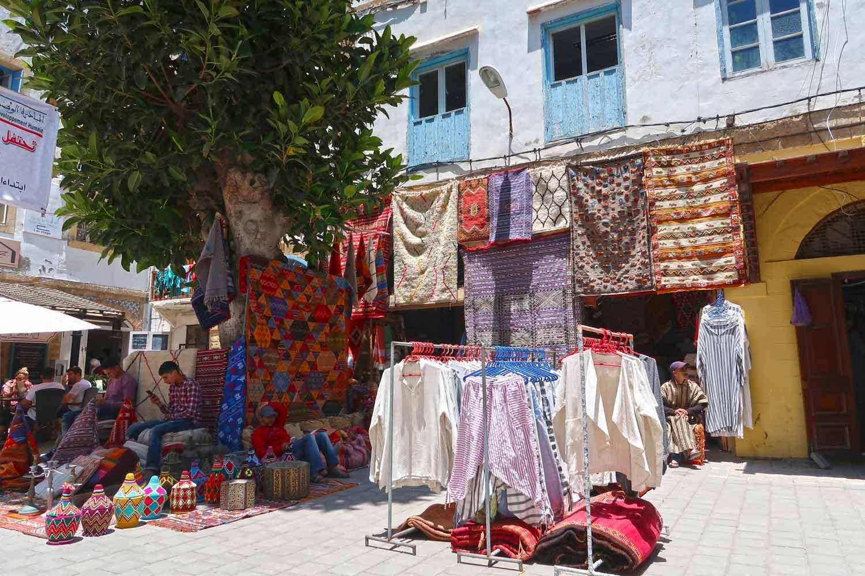 Straßen Souveniers in Essaouira