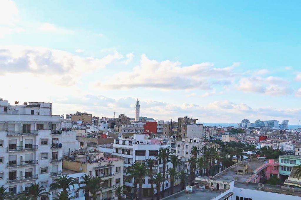 Der Blick auf Casablanca - likeontravel