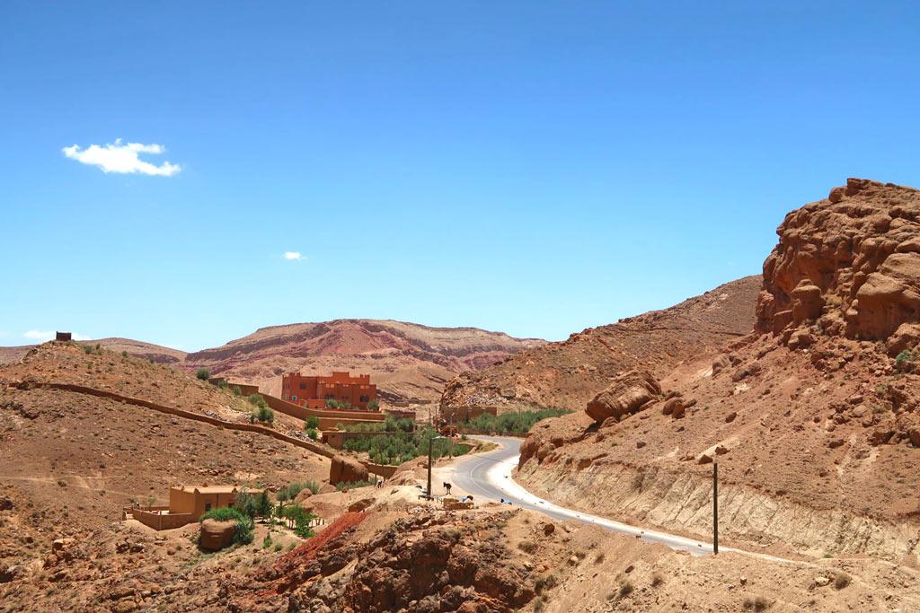 Dörfer auf dem Weg zur Dadesschlucht - Marokko Roadtrip - likeontravel