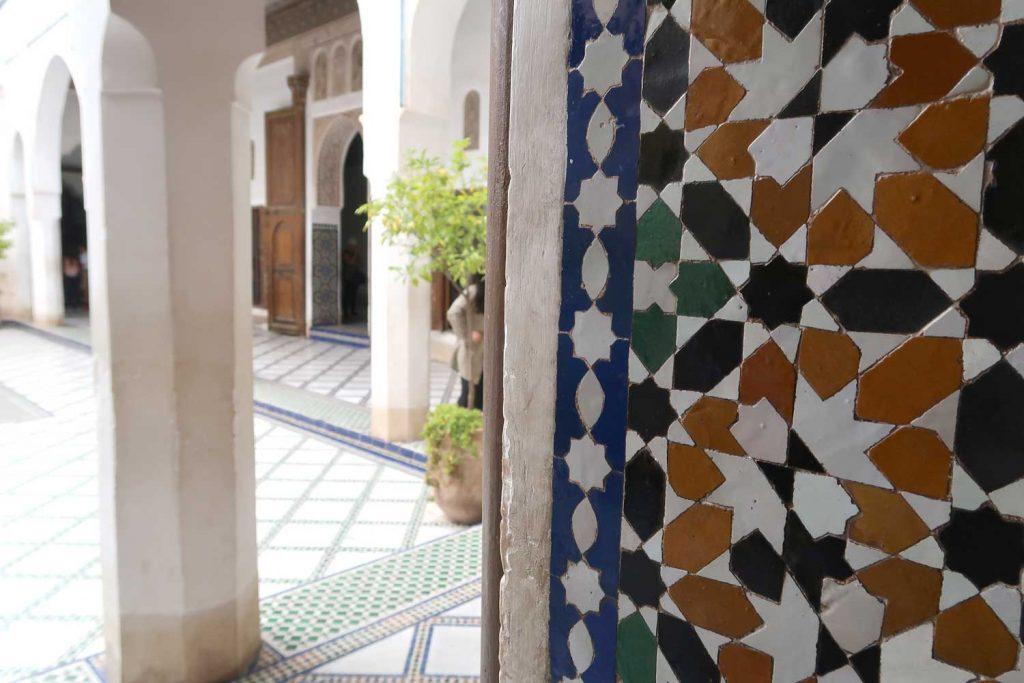Bahia Palast in Marrakesch - likeontravel