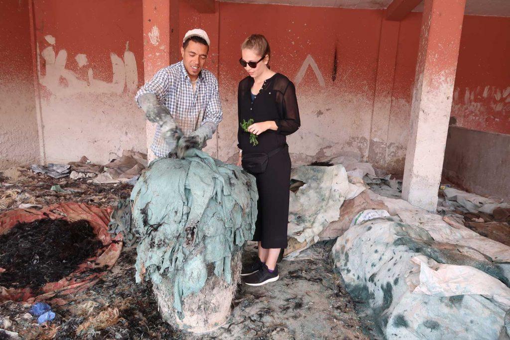 Gerberei in Marrakesch - likeontravel