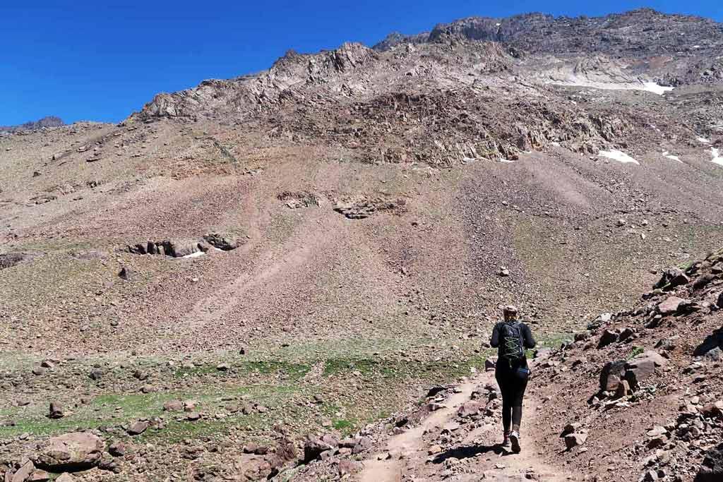 Wandern im Atlasgebirge von Marokko