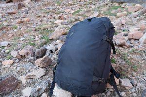 Gepäck bei der Toubkal-Wanderung