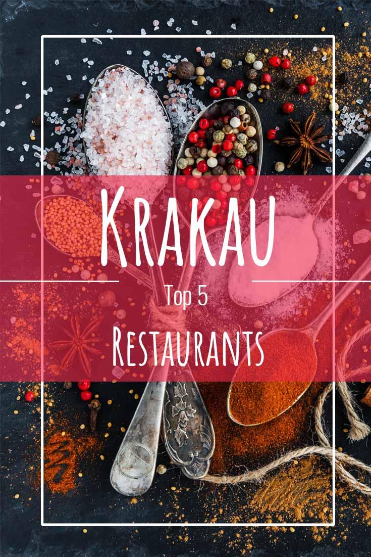 Krakau Restaurants - die Top 5 leckersten Foodspots der Stadt! Polen | Krakau | Foodspots | Reisetipps | Reiseblog | Where to eat in Krakow