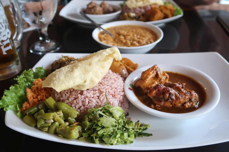 Kefta Curry im Dream Cafe in Ella