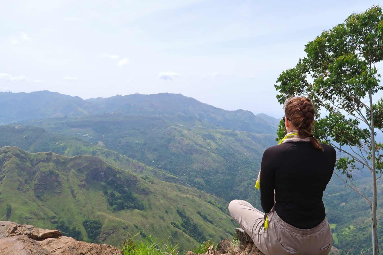 Aussicht vom Ella Rock in Sri Lanka