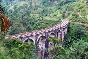 Nine Arch Bridge in Ella Sri Lanka