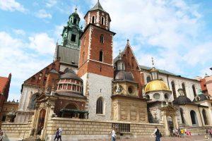 Die Wawel-Kathedrale auf dem Wawelhügel in Krakau, Polen - #sehenswürdigkeiten #reisetipps #krakau #polen