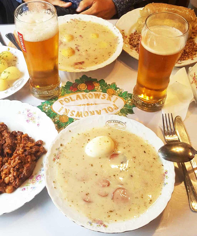 Die polnische Küche gehört zu einer der besten auf der Welt. Iss dich durch unsere 5 Top Krakau Restauranst! Polen | Krakau | Where to eat | Reiseblog | Foodtipps