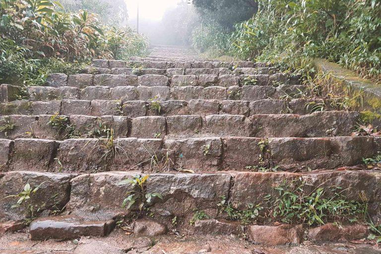 Adams Peak - Der Aufstieg