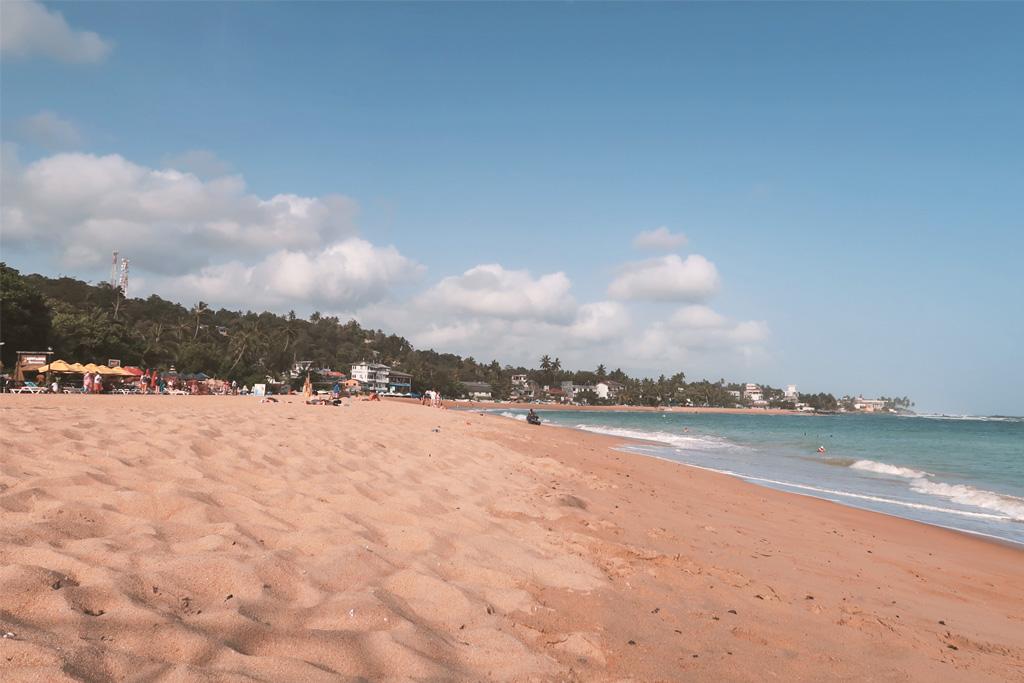 Strand von Unawatuna