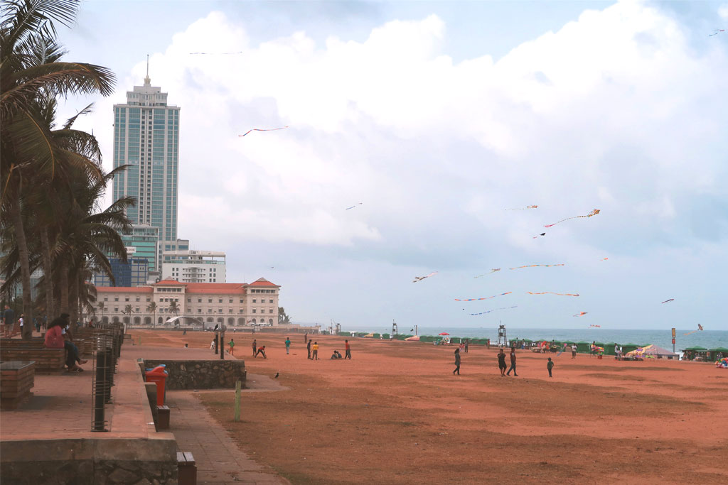 Colombo Strand Galle Face Green