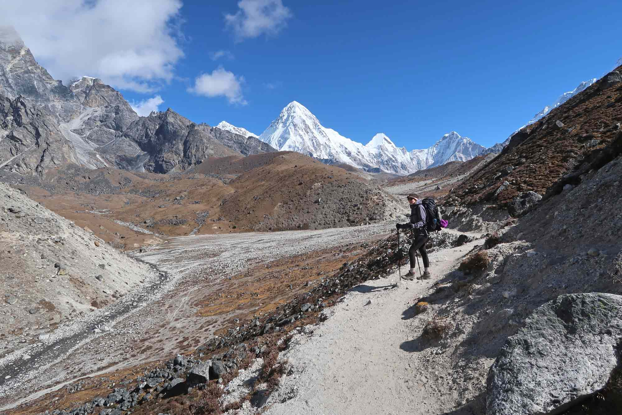 Von Lobuche nach Gorak Shep- Everest Base Camp Trek - Likeontravel