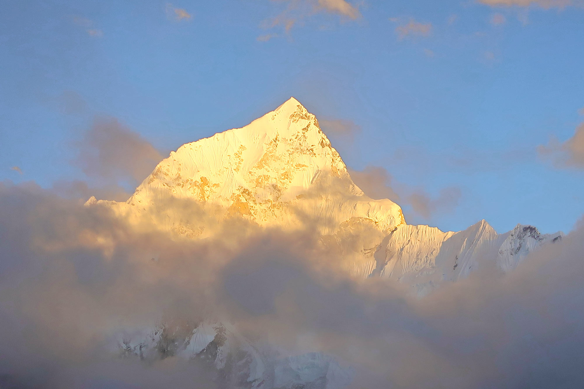 Sonnenuntergang vom Kala Patthar - Everest Base Camp Trek - Likeontravel