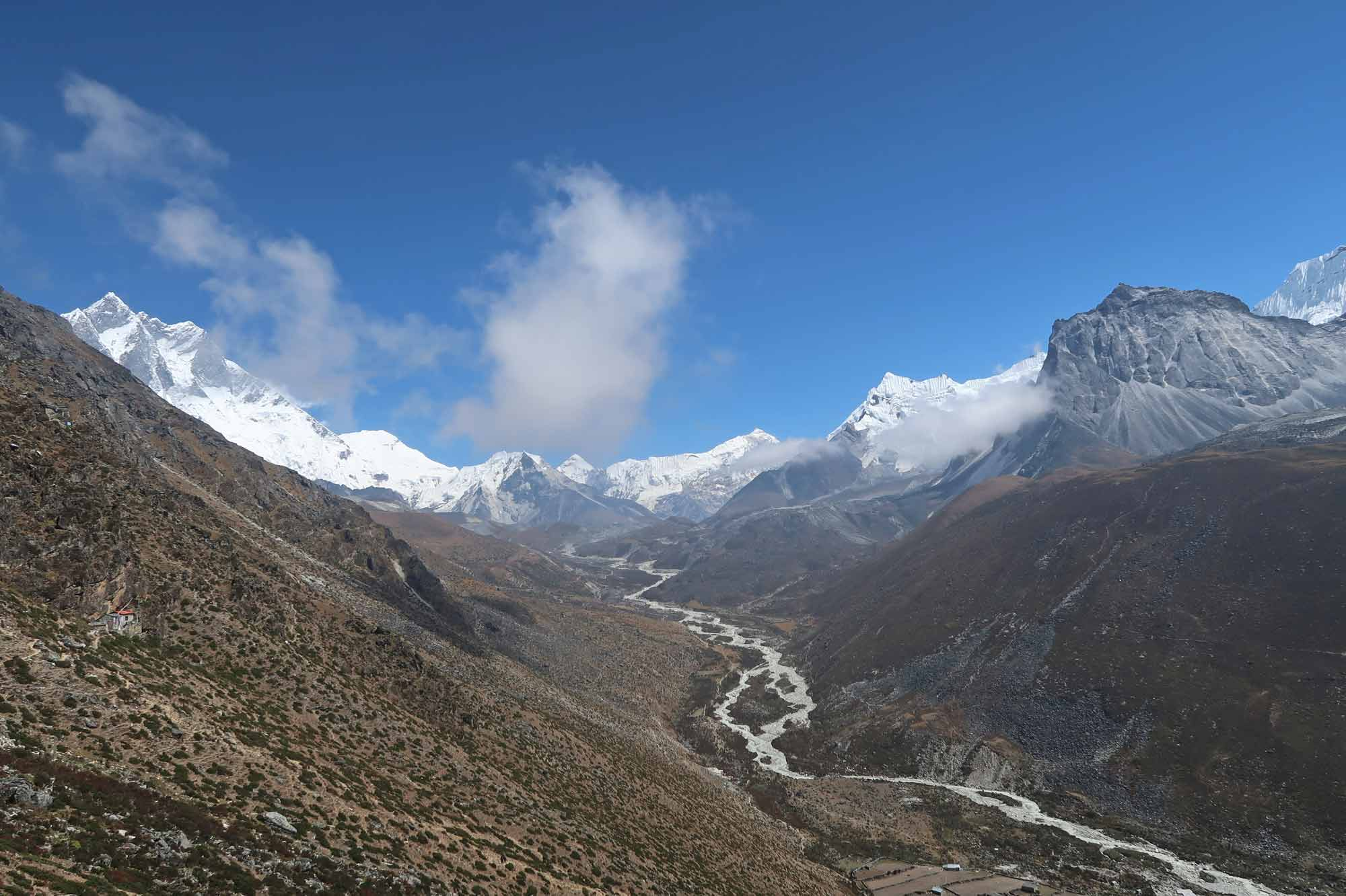 Fluss auf dem Everest Base Camp Trek - Likeontravel