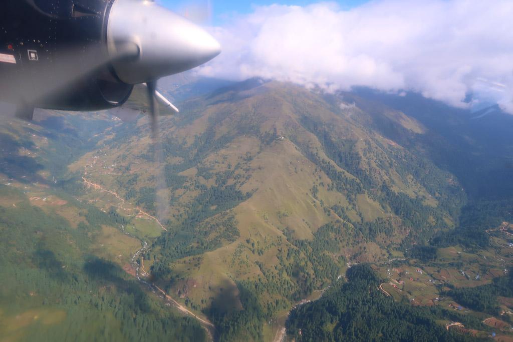 Der Flug von Lukla nach Kathmandu mit Tara Air - Likeontravel