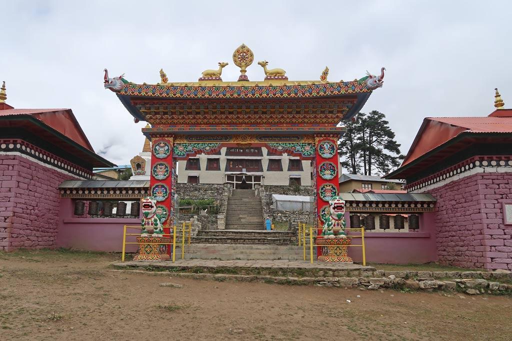 Tengboche Kloster auf dem Rückweg vom Everest Base Camp Trek - Likeontravel