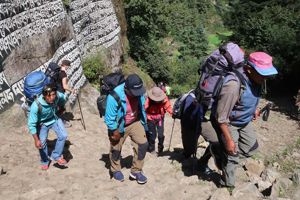 Guides auf dem Everest Base Camp Trek
