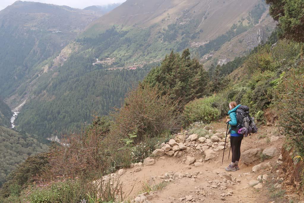 Solotrekking in Nepal