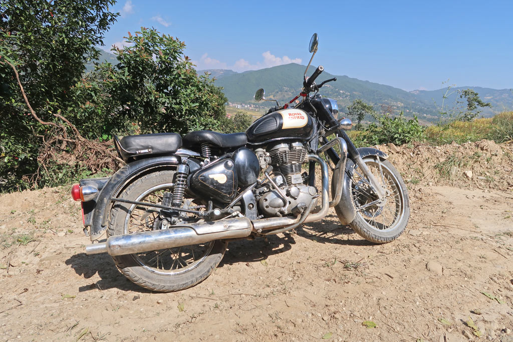 Royal Enfield Classic 350cc in Nepal