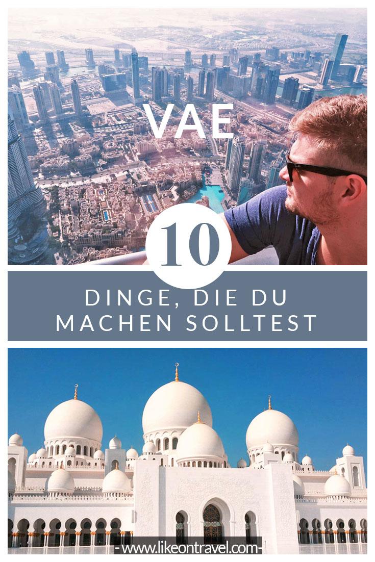Abu Dhabi & Dubai - die wunderschönen Metropolen in der Wüstenlandschaft der Vereinigten Arabischen Emirate! VAE | Tipps | Highlights | Reiseblog | Abu Dhabi | Dubai
