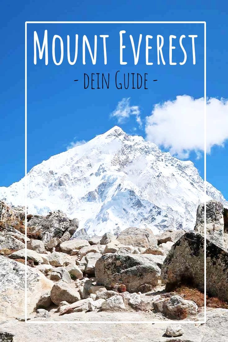 Der beste Guide für deine Wanderung zum Everest Base Camp! Nepal   Himalaya Gebirge   Wanderurlaub   Trekking Guide   Everest Guide   Tipps